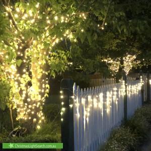 Christmas Light display at 29 Kett Street, Nunawading