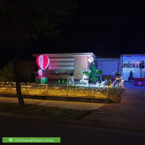Christmas Light display at 10 Maple Avenue, Royal Park