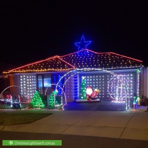 Christmas Light display at  Emery Drive, Clyde North