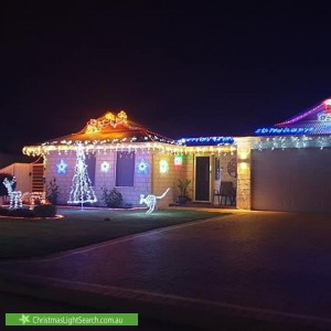 Christmas Light display at  Switchback Parade, West Busselton