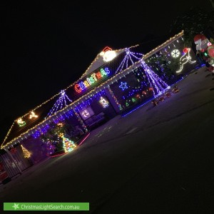 Christmas Light display at 20 Casma Grove, Ballajura