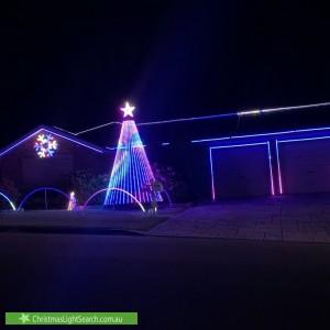 Christmas Light display at 21 Dalmeny Drive, Macquarie Hills