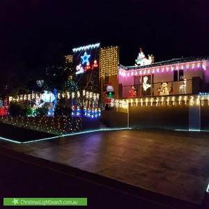 Christmas Light display at 4 Wark Place, Jerrabomberra