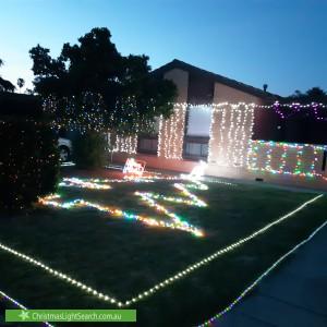 Christmas Light display at 8 Quintal Avenue, Modbury