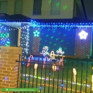 Christmas Light display at 14 Blamey Street, Bentleigh East