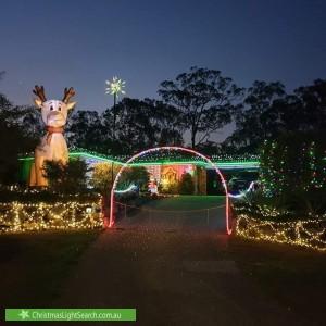 Christmas Light display at 6 Lena Place, Windaroo