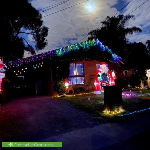 Christmas Light display at 9 Cambden Park Parade, Ferntree Gully