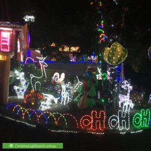 Christmas Light display at 107 Kennedy Parade, Lalor Park