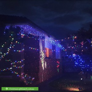 Christmas Light display at 3 Rae Street, Capel Sound