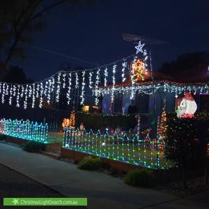 Christmas Light display at 20 Torrens Street, Werribee
