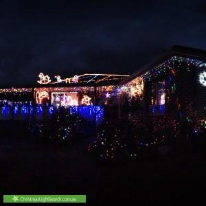 Christmas Light display at 52 Blackwood Park Road, Ferntree Gully