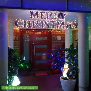 Christmas Light display at 4 Birchall Street, Gordon