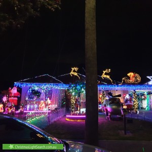 Christmas Light display at 31 Kelvin Drive, Ferntree Gully