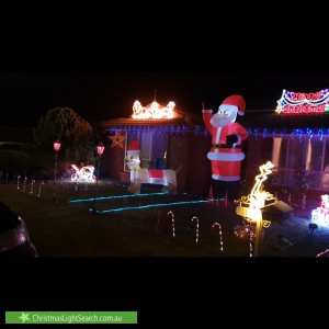 Christmas Light display at 11 Pointon Street, Aldinga Beach