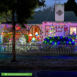 Christmas Light display at  Troy Street, Bonbeach