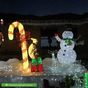 Christmas Light display at 620 Masons Road, Mernda