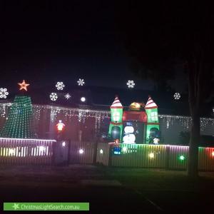 Christmas Light display at 1 Tarragon Drive, Tarneit