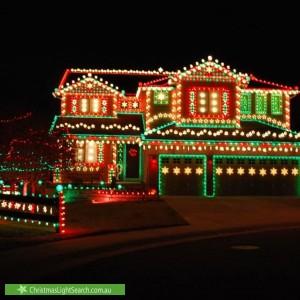 Christmas Light display at 73 Ingerson Street, West Beach