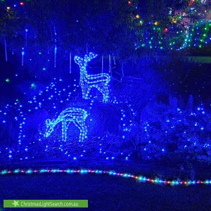 Christmas Light display at 2 Newport Gardens, Hillarys