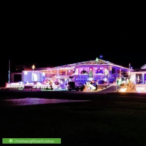 Christmas Light display at 12 Maidstone Street, Mount Tarcoola