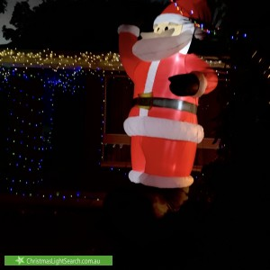 Christmas Light display at 19 Freeman Avenue, Morphett Vale
