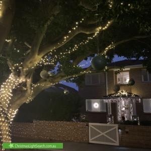 Christmas Light display at 28 Seaview Street, Balgowlah