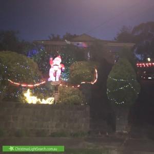 Christmas Light display at 7 Carson Court, Watsonia North