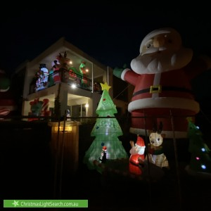Christmas Light display at  The Strand, Williamstown