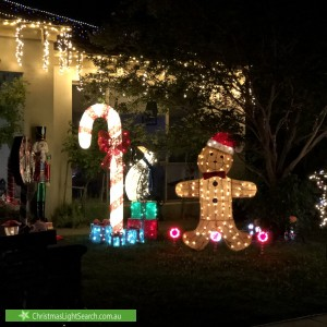 Christmas Light display at  Pildappa Street, Harrison