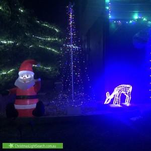 Christmas Light display at 6 Minstrel Street, Kallangur