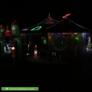 Christmas Light display at 9 Saint Andrews Court, Narre Warren South