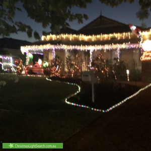 Christmas Light display at 53 Alexandria Boulevard, Canning Vale