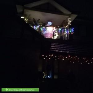 Christmas Light display at 126 Lucas Road, Burwood