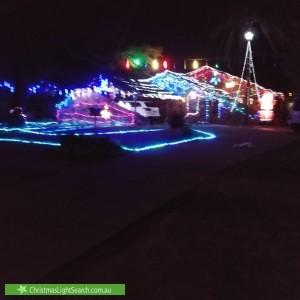 Christmas Light display at 461 Lake Albert Road, Lake Albert