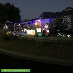 Christmas Light display at  Caroline Close, Sheidow Park