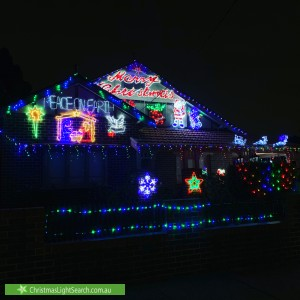 Christmas Light display at 1 Hay Street, Croydon Park