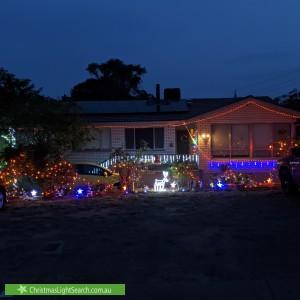 Christmas Light display at 26 Marlock Street, Rivett