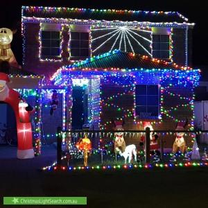 Christmas Light display at 38 Bonang Court, Corio