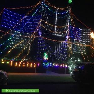 Christmas Light display at 1 Valanne Street, Brighton East