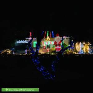 Christmas Light display at 69 Golding Street, Beverley