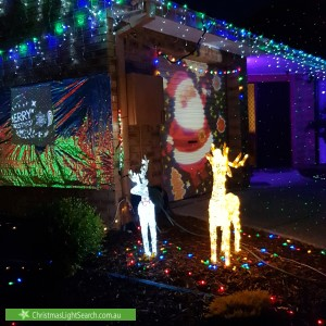Christmas Light display at 36 Wyselaskie Circuit, Kambah