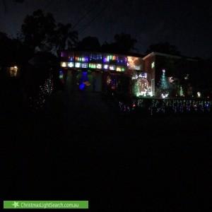 Christmas Light display at 25 Jackson Crescent, Pennant Hills