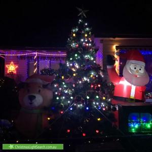 Christmas Light display at 3 Milton Street, Macleod