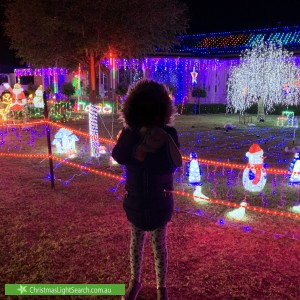 Christmas Light display at  Blackwood Court, Mount Martha