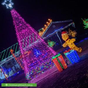 Christmas Light display at 4 Kearns Close, Broadford