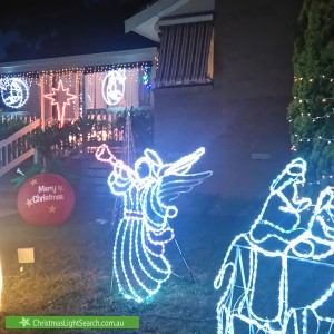 Christmas Light display at  Jeanette Street, Bayswater