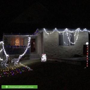 Christmas Light display at 74 Warranilla Avenue, Rosebud
