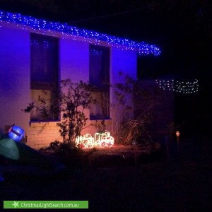 Christmas Light display at 79 Grayson Drive, Scoresby