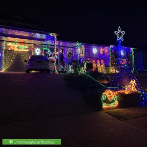 Christmas Light display at 19 Eleanor Crescent, Rooty Hill