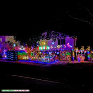 Christmas Light display at 101 Kempsie Road, Upper Mount Gravatt